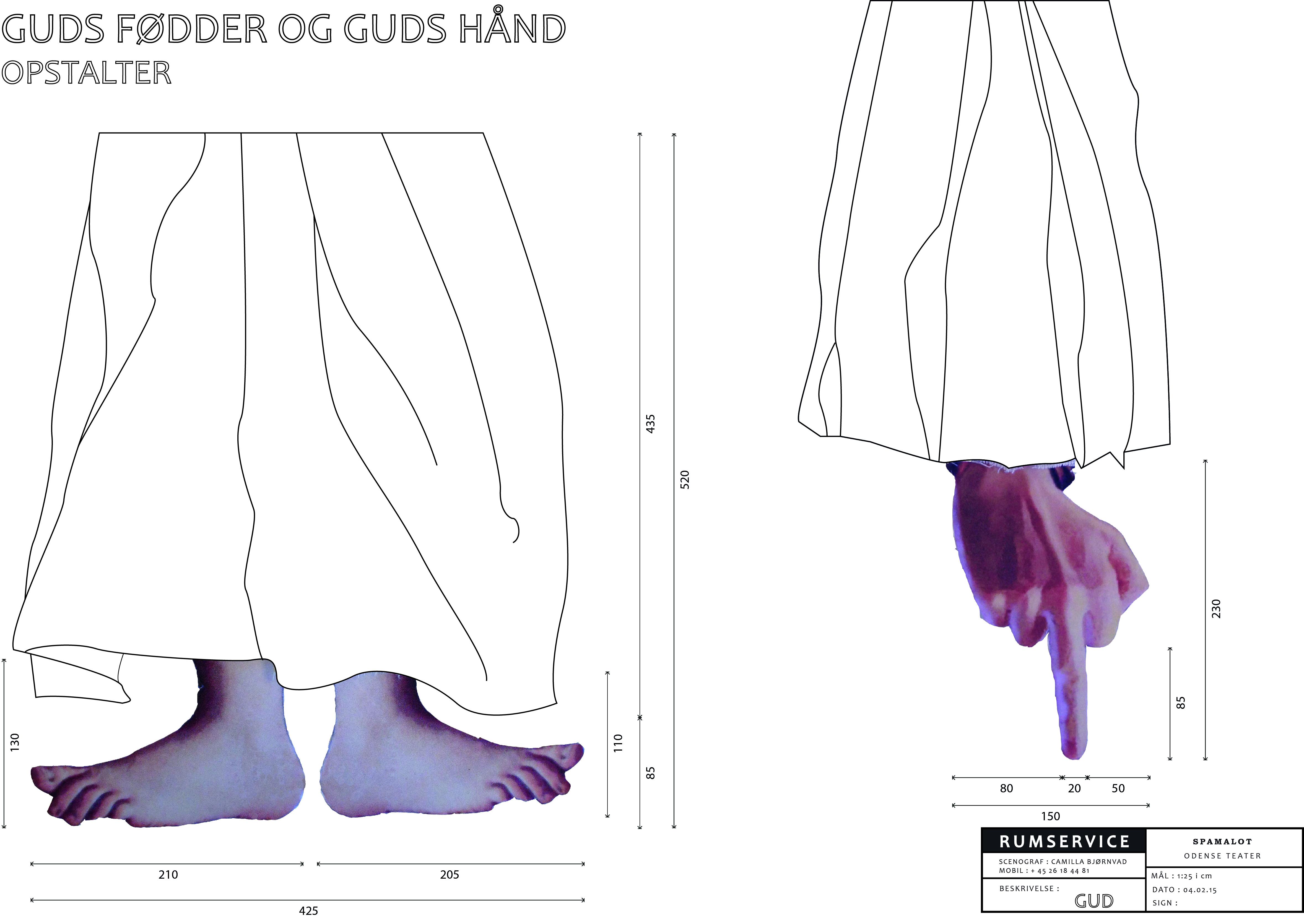 Guds fødder